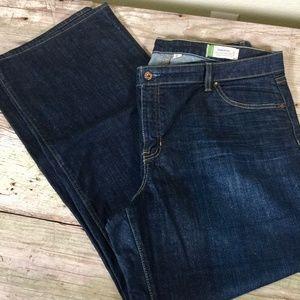 Gap Essential stretch straight high waist jeans 16